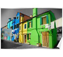Burano, Venice Italy - 10 Poster