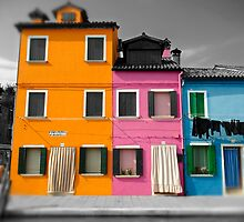 Burano, Venice Italy - 11 by Paul Williams