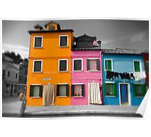 Burano, Venice Italy - 11 Poster