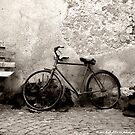An old Bike by Michele Filoscia
