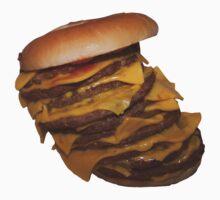 Mega Burger by badteeth