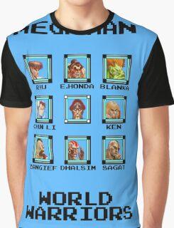 Mega Man - World Warriors Graphic T-Shirt