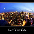 New York City Skyline by Anthony L Sacco