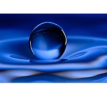 Floating Water Drop Photographic Print