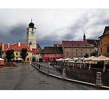 Stormy Afternoon Sibiu Transylvania Photographic Print