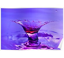 Martini Splash Poster