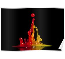 Gummy Sculpture Poster