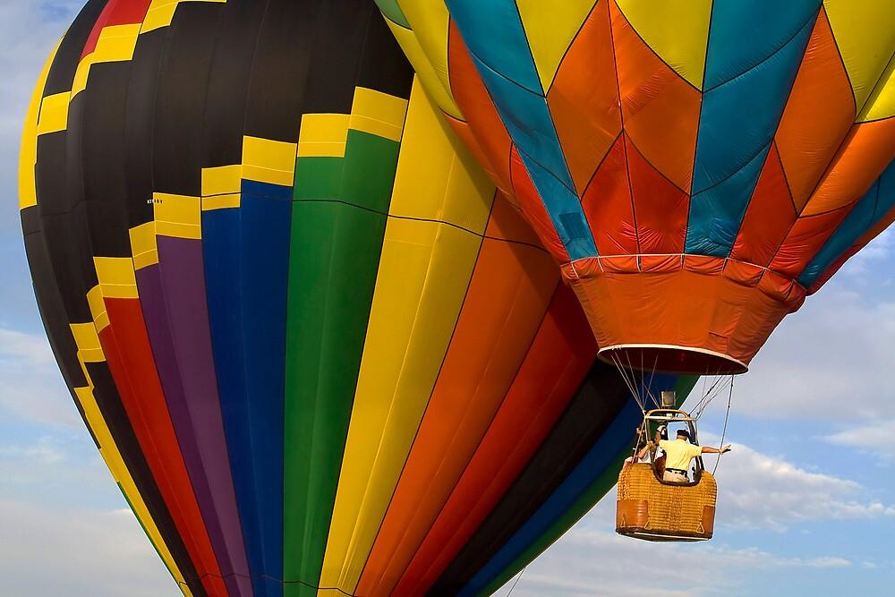 Hot Air Balloon Traffic by Ray Chiarello