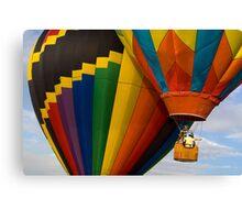 Hot Air Balloon Traffic Canvas Print