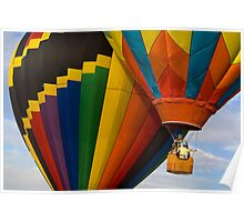 Hot Air Balloon Traffic Poster