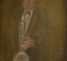 Sax Man by Catherine Hamilton-Veal  ©