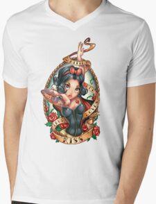 Waiting For Loves True Kiss Mens V-Neck T-Shirt