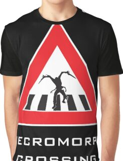Caution - Necromorph Crossing Graphic T-Shirt