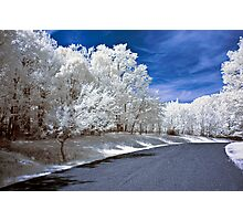 Infrared Road Photographic Print