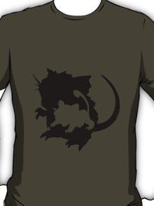 Rattata evolution chart (transparent) T-Shirt