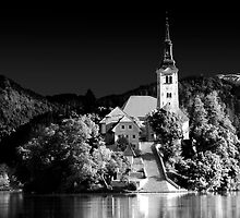 Lake Bled, Slovania by Paul Williams