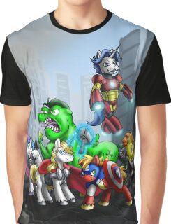 Ponies, assemble! Graphic T-Shirt