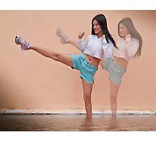 Just for kicks Photographic Print