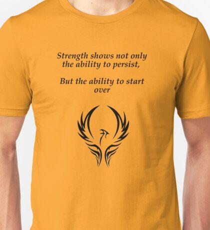 Start over Unisex T-Shirt