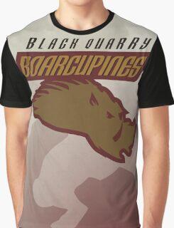 Black Quarry Boarcupines Graphic T-Shirt