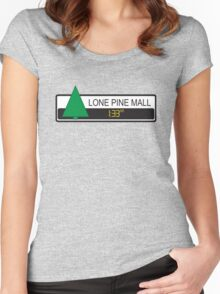 Lone Pine Mall Women's Fitted Scoop T-Shirt
