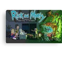 Quintessential Rick and Morty Canvas Print