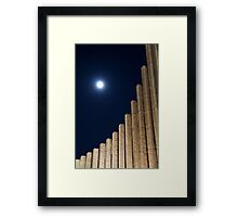 Night Ascention Framed Print