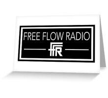 "Free Flow Radio ""Box Design"" Greeting Card"