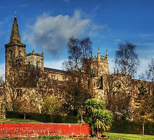 Abbey Ruins and Abbey Church by Tom Gomez