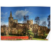 Abbey Ruins and Abbey Church Poster