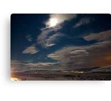 Icelandic Plains Canvas Print
