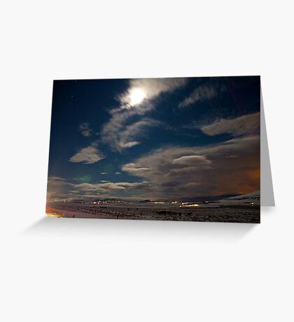 Icelandic Plains Greeting Card