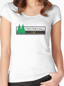 Twin Pines Mall Women's Fitted Scoop T-Shirt