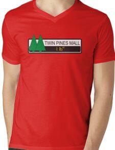 Twin Pines Mall Mens V-Neck T-Shirt