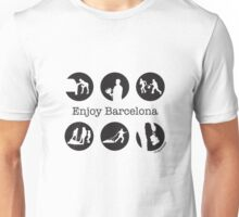 Enjoy Barcelona by chapateao Unisex T-Shirt