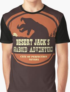Desert Jack's Graboid Adventure logo Graphic T-Shirt
