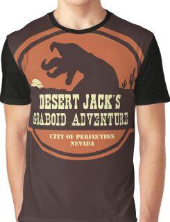 Desert Jack's Graboid Adventure logo Graphic T-Shirt