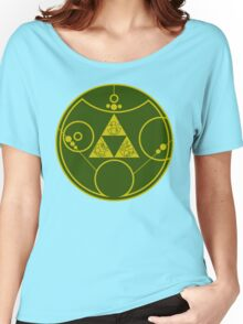 Gallifreyan Hylian Crest Women's Relaxed Fit T-Shirt