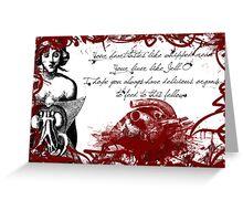 Growlin'tines type #3 Greeting Card