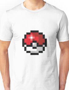 Pixel art Pokeball Unisex T-Shirt