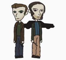Dean & Sam 2 by sybilthorn