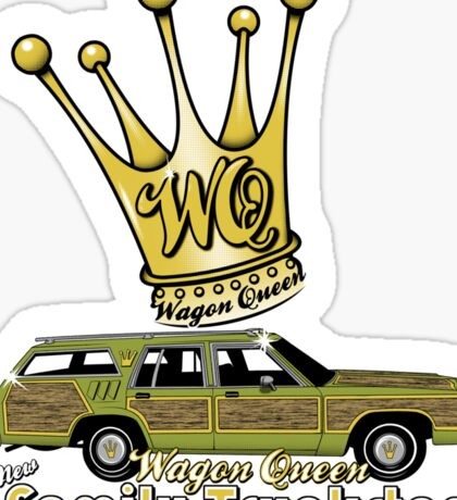 The Wagon Queen Family Truckster Sticker