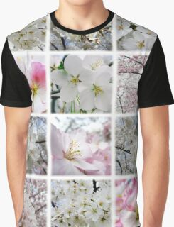 Cherry Blossoms Montage 1 Graphic T-Shirt