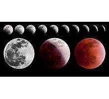 Total Lunar Eclipse, December 2011 Photographic Print