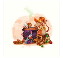 Caramel Witches Brew Art Print