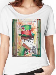 Mad hatter Women's Relaxed Fit T-Shirt