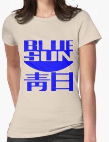 Blue Sun Corporate Logo Womens Fitted T-Shirt