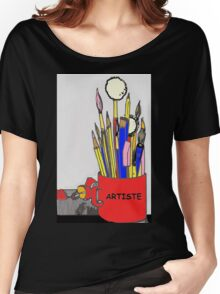 ARTISTE TOOLS Women's Relaxed Fit T-Shirt