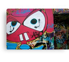 Paris Graffiti 2011 X Canvas Print
