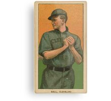 Benjamin K Edwards Collection Neal Ball Cleveland Naps baseball card portrait Metal Print